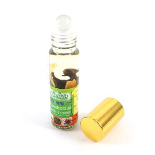 Масляный ингалятор на травах Green Herb