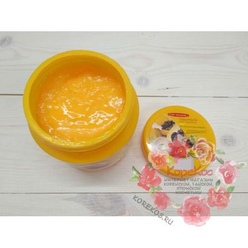 Маска для волос c экстрактом папайи и яичным желтком Papaya Egg Yolk Hair treatment