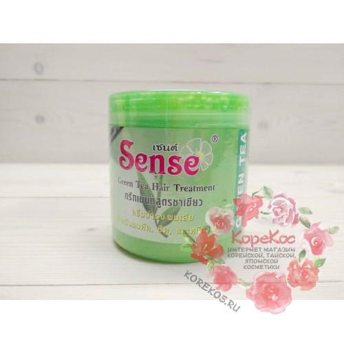 Маска для волос с зеленым чаем Sense treatment greentea