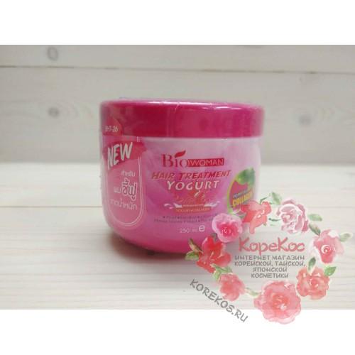 "Маска для волос ""Йогурт+Коллаген"" BioWoman hair treatment yogurt-collagen"