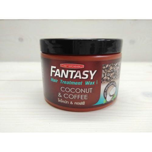 Маска-воск для волос кокос и кофе CAREBEAU Fantasy hair treatment wax coconut & coffee