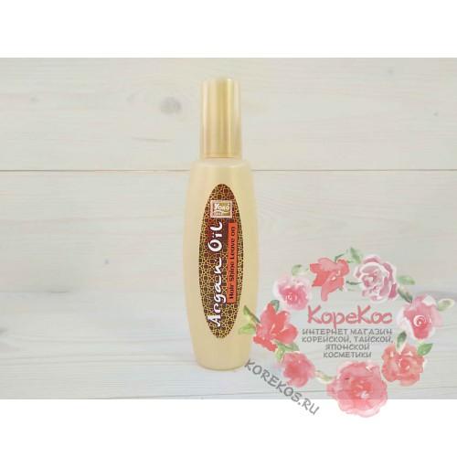 Несмываемая сыворотка для волос с аргановым маслом Argan Oil hair shine leave on