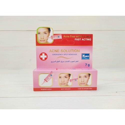 Точечный крем от акне Acne solution emergency spot remover