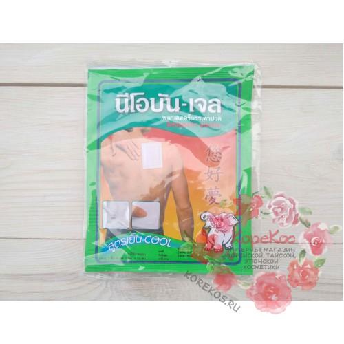 Обезболивающий пластырь Neobun Gel (со слоником)