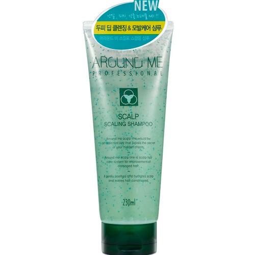 Шампунь-скраб для волос и кожи головы отшелушивающий Around Me Scalp Scaling Shampoo