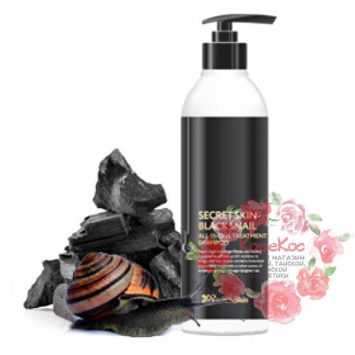 Шампунь для волос SECRETSKIN BLACK SNAIL ALL IN ONE TREATMENT SHAMPOO
