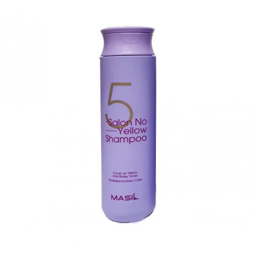 Тонирующий шампунь для осветленных волос MASIL 5SALON NO YELLOW SHAMPOO