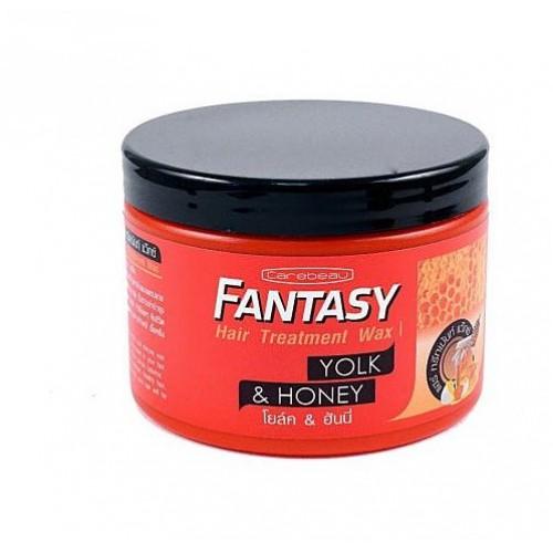 Маска-воск для волос Мед и яичный желток Fantasy CAREBEAU