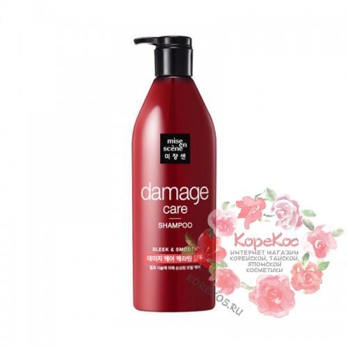 Шампунь для поврежденных волос Damage Care Shampoo