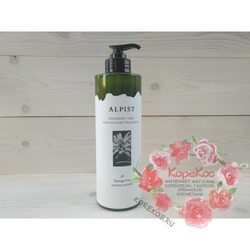 Маска для поврежденных волос без сульфатов и силиконов Alpist Edelweiss Treatment
