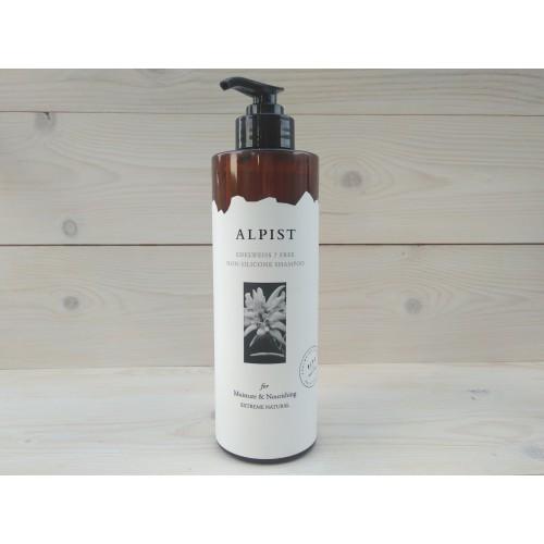 Шампунь без сульфатов и силиконов увлажнение и питание волос Alpist Edelweiss Shampoo