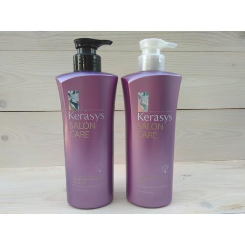 Шампунь для волос КераСис Салон Кэр Гладкость и блеск  Kerasys Salon Care