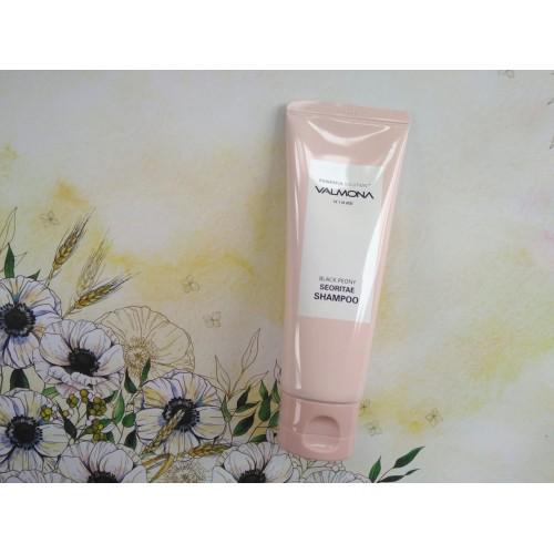 Шампунь для волос ЧЕРНЫЙ ПИОН/БОБЫ Powerful Solution Black Peony Seoritae Shampoo