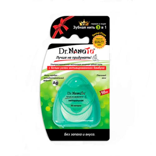 Зубная нить Dr.NanoTo без запаха