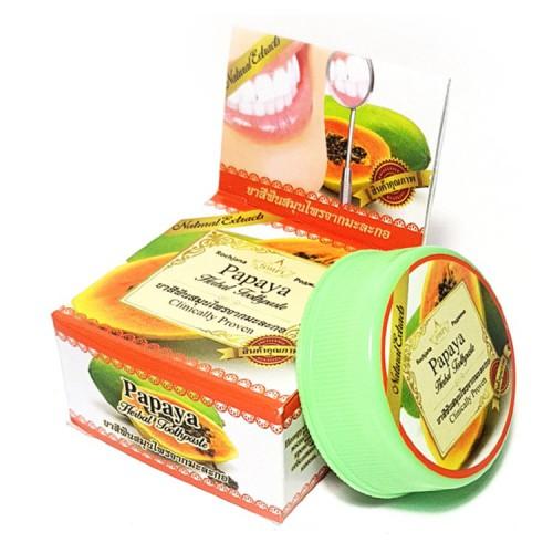 Зубная паста с экстрактом папаи Rochjana