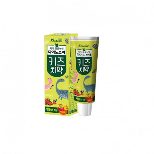 Детская зубная паста с ярким вкусом микса фруктов «Kizcare» (с пониженным содержанием фтора)