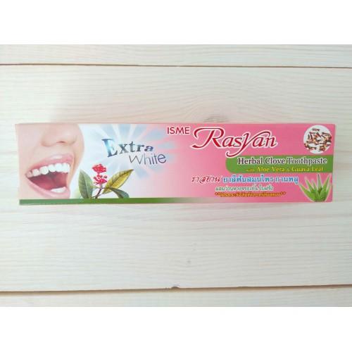 Отбеливающая зубная паста с гвоздикой в тубе Isme Rasyan Herbal Clove