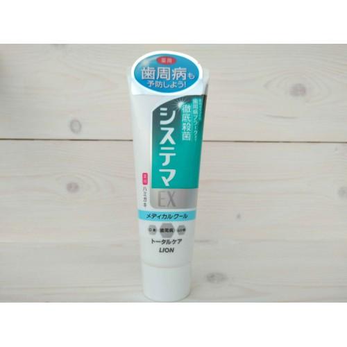 """Зубная паста для профилактики болезней десен """"Dentor Systema EX Medical Cool"""" охлаждающий ментол"""