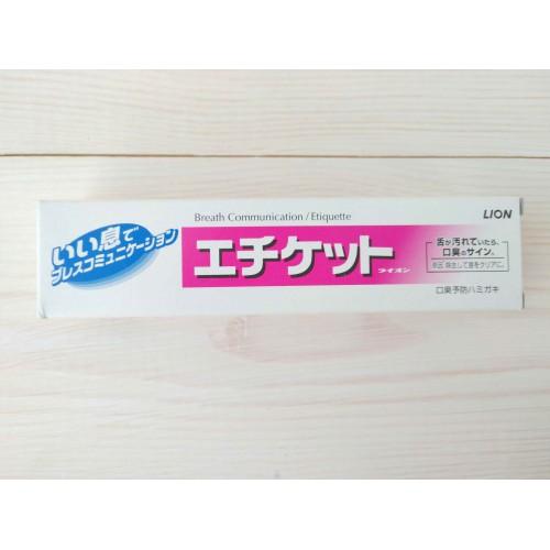 """Зубная паста профилактика неприятного запаха изо рта """"ETIQUETTE"""" освежающая мята"""