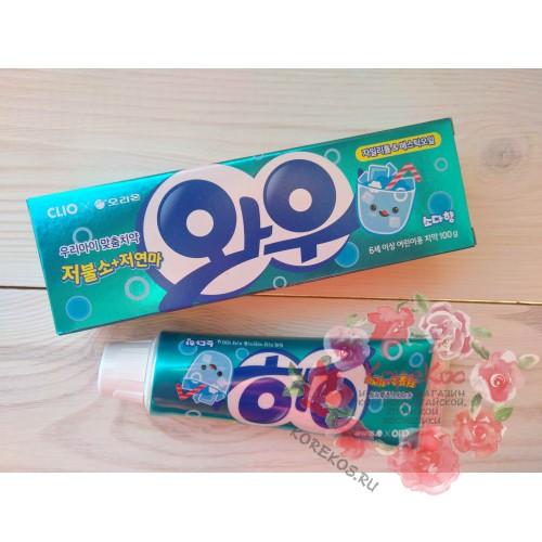 Детская зубная паста со вкусом лимонада Wow Soda taste toothpaste