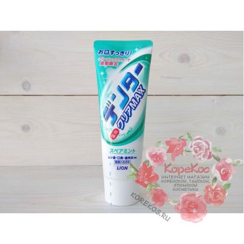 "Зубная паста ""Dentor Clear MAX Spearmint"" для защиты от кариеса с микропудрой МЯТА (туба)"
