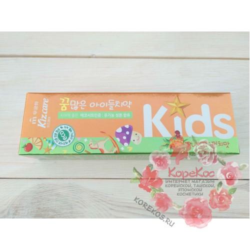Детская зубная паста (ананас) Kizcare Kids Toothpaste (Punch)