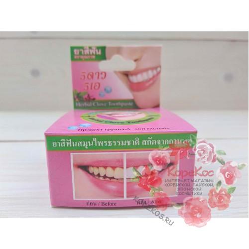 Круглая зубная паста с экстрактом гвоздики (классика)