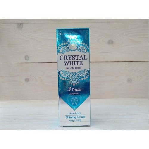 Зубная паста с ароматом лайма и мяты Mukunghwa Crystal White
