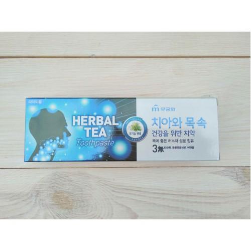 Зубная паста с экстрактом травяного чая Herbal tea