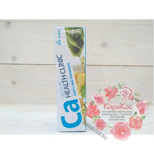 Зубная паста с кальцием для профилактики кариеса Mukunghwa Calcium Health Clinic