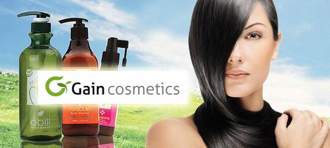 Корейская косметика для волос Gain Cosmetics