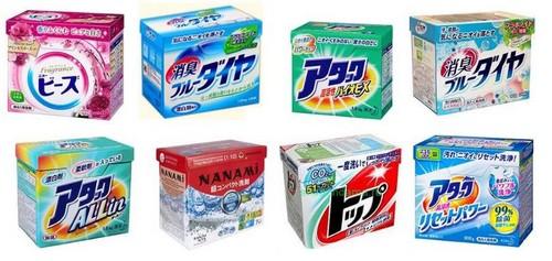 Корейские и японские стиральные порошки и средства для стирки
