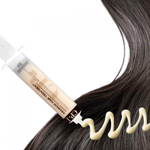 Корейская протеиновая маская для волос в шприце CP-1