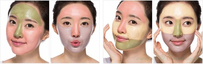 Корейские и тайские маски-пленки для очищения лица