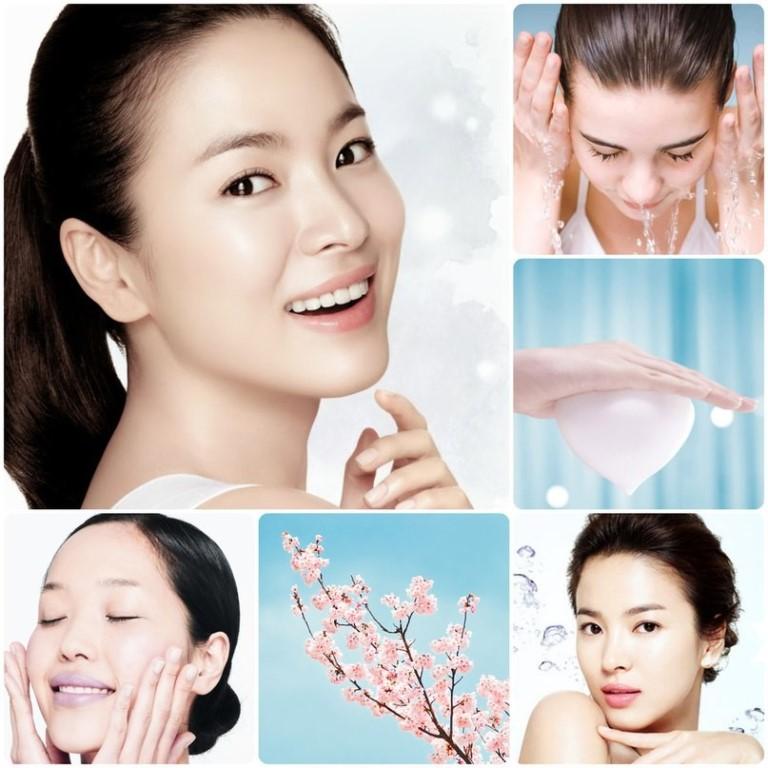 Корейские средства для очищения кожи лица